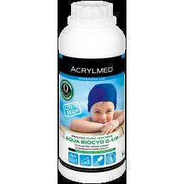 Calcid pH Minus to płynny preparat do obniżania pH wody w basenach kąpielowych.