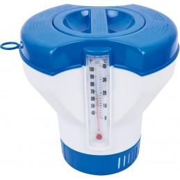 Pływak z termometrem na...