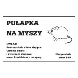 Pułapka lepowa na myszy -...